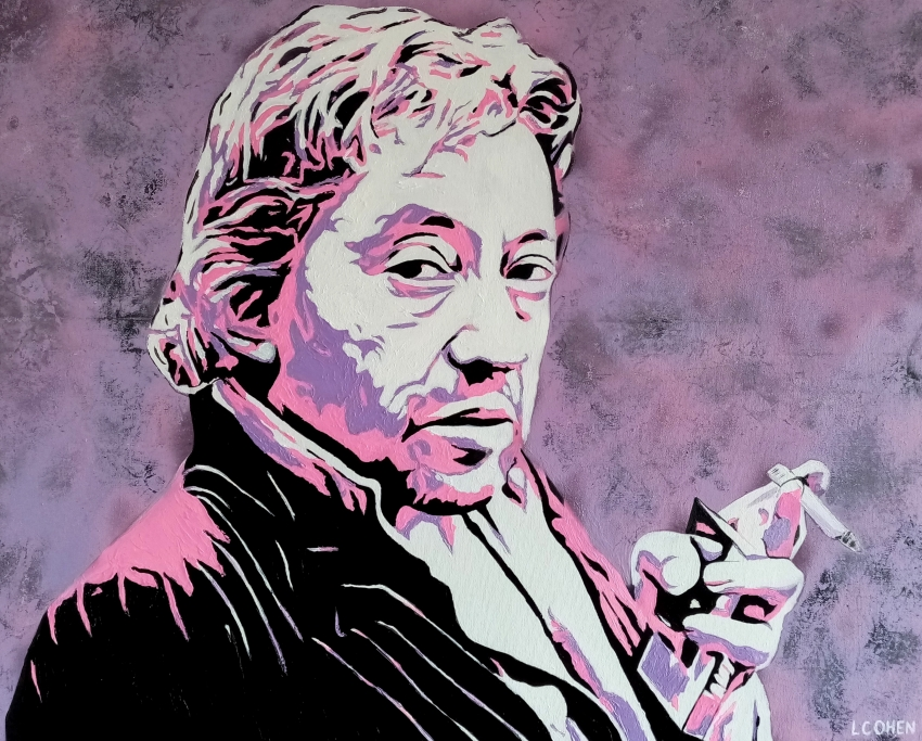 Serge Gainsbourg by LIONEL.COHEN